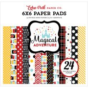 "Echo Park Double-Sided Paper Pad 6""X6"" 24/Pkg-Magical Adventure"