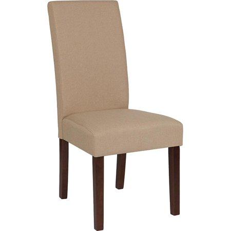 Lt Gray Fabric Parsons Chair - image 5 de 8