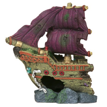 (2 Pack) LARGE SHIP ORNAMENT](Large Ornaments)