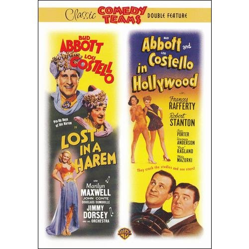 Abbott & Costello: Lost In A Harem / Abbott And Costello In Hollywood (Full Frame)