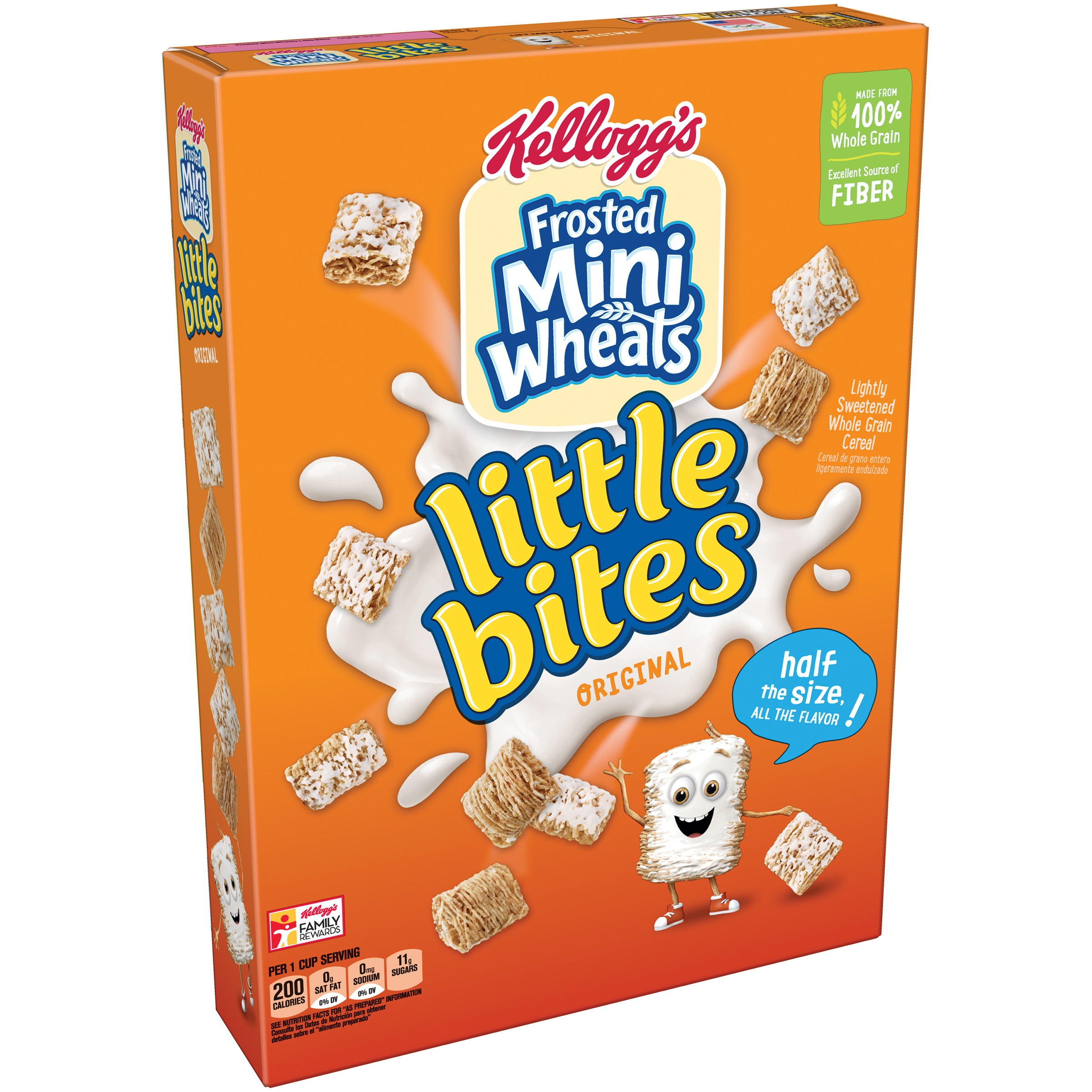 Kellogg's Frosted Mini-Wheats Little Bites Original Cereal, 15.2 oz
