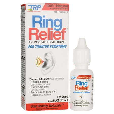 TRP Company Ring Relief 0.33 fl oz Liquid (Best Medicine For Kidney Infection)