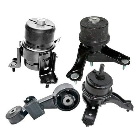 Hybrid Motor - K0727 Fits 2010-2011 Toyota Camry 2.5L Except Hybrid Motor & Trans Mount Set 4PCS : A62009, A4295, A62062, A4288