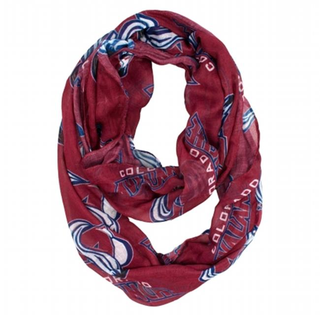 Little Earth Productions 500615-AVLN Colorado Avalanche Sheer Infinity Scarf