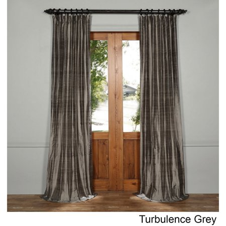 Exclusive Fabrics  Textured Dupioni Silk Curtain Textured Silk Curtain