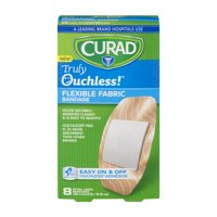 Curad Truly Ouchless! Flexible Fabric Bandages, XL, 8 Ct