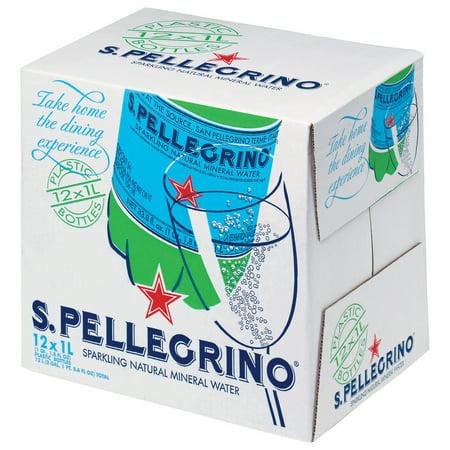 Mini Sparkling Cider Bottles (S.Pellegrino Sparkling Natural Mineral Water, 33.8-ounce plastic bottles (Pack of)