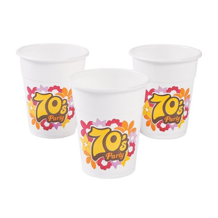 IN-13758010 70s Party Disposable - 70s Party