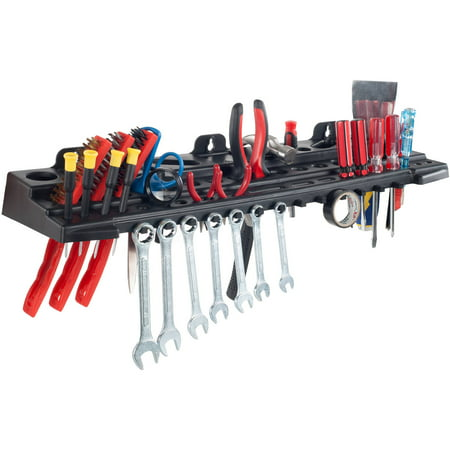 Multitool Organizer for Hand Tools, Automotive Tools, and Electric Tools, Wall Mounted Tool Organizer Shelf by