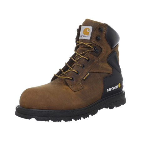 022695ce266 Carhartt CMW6220 6-Inch Bison Brown Safety Toe Work Boot-11M/X