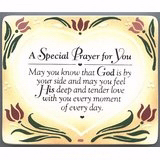 "Plaque-Little Echoes-A Special Prayer For You (Easel Backed) (4.25"" x 5.5"")"