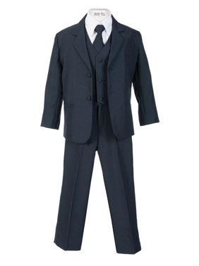 97a21f221 Product Image Avery Hill Boys Formal 5 Piece Suit with Shirt and Vest