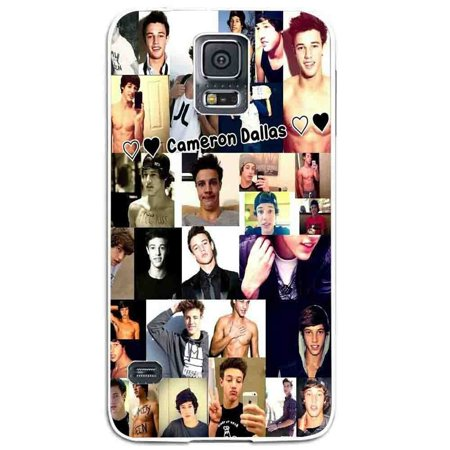 Ganma cameron dallas magcon boys collage Case For Samsung Galaxy Case (Case For Samsung Galaxy S4 Black) (S4 Dallas Halloween)