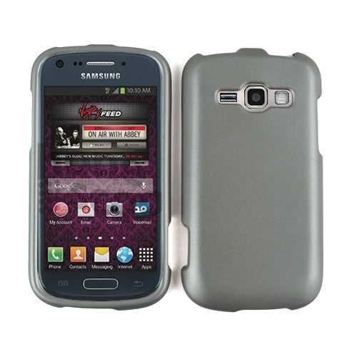 Cell Armor Snap-On Case for SAMM840 Galaxy Ring/Prevail2 (Honey Metalic Gray Leather Finish)