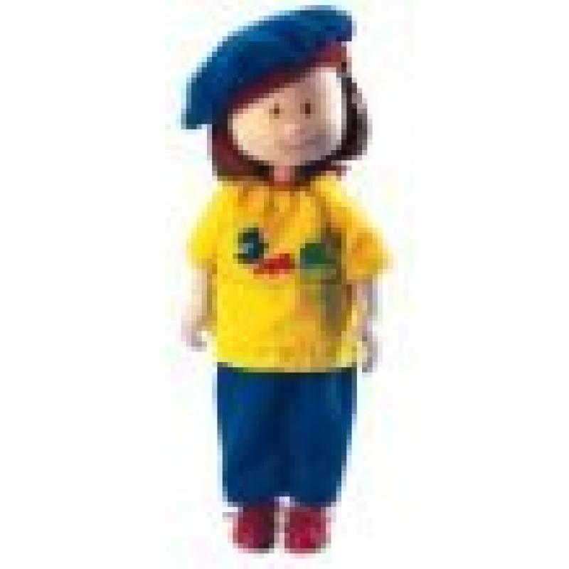"Madeline Artist Smock & Beret 8"" Doll Outfit by"