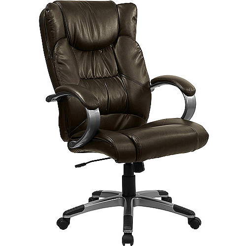 Double Padded Multi-Function Leather Executive High-Back Office Chair, Multiple Colors