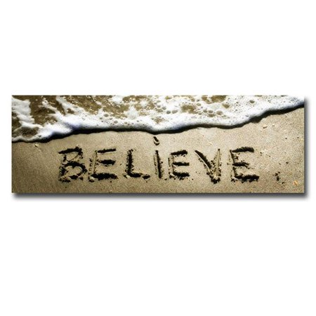Believe by Alan Hausenflock Premium Gallery-Wrapped Canvas Giclee Art - Ready-to-Hang, 12 x 36 x 1.5 in. - image 1 de 1