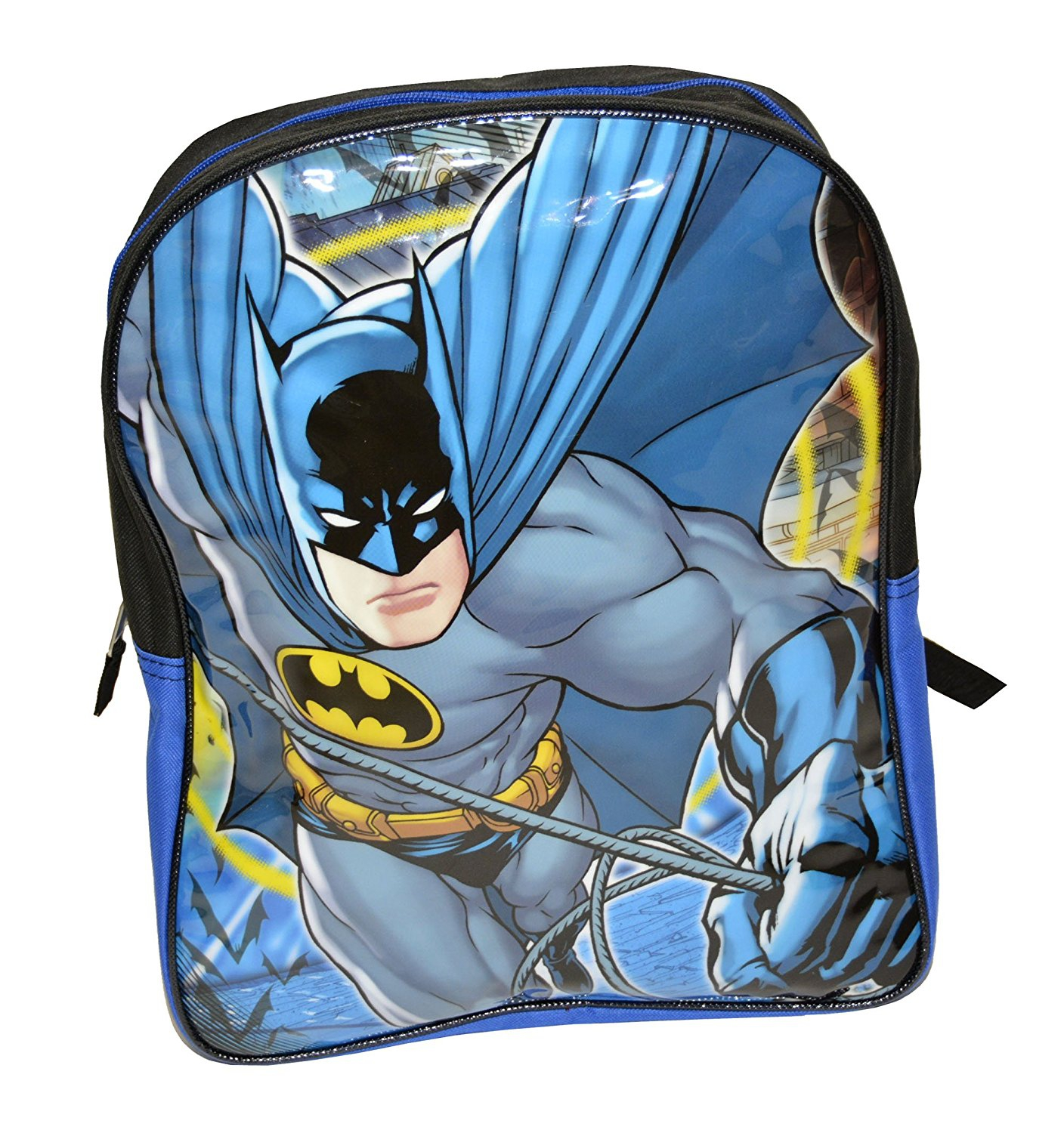 DC Comics Batman, Superman Backpack - 15""