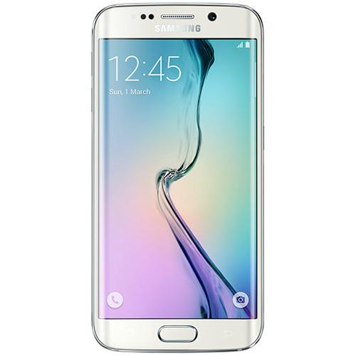 "Samsung Galaxy S6-EDGE-G925i-White Pearl 5.1"" Touch Screen-16.0 Megapixel Camera-Android 5.0.2"