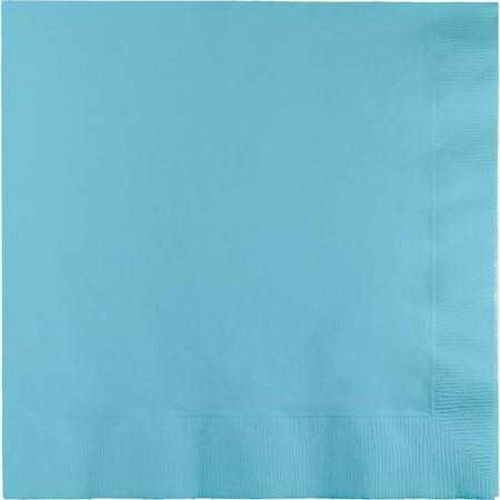 Party Creations Lunch Napkins, Pastel Blue, 20 Ct (Blue Pastel)
