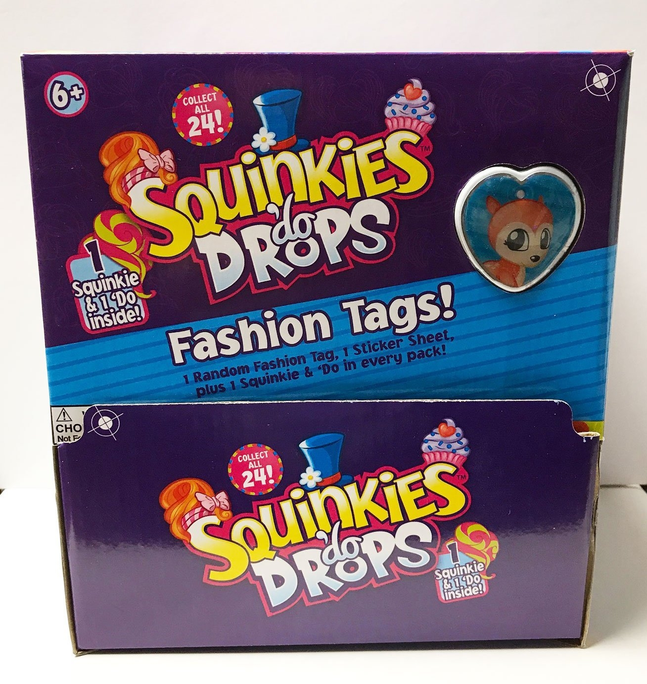 Squinkies 'do Drops Fashion Tags Series 1 with Figures (Pack of 24)