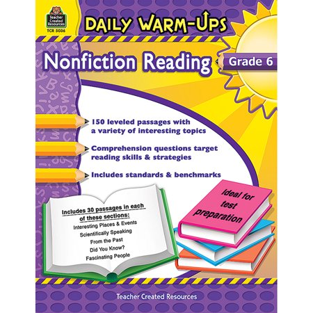 DAILY WARM UPS GR 6 NONFICTION - Daily Warm Ups Reading