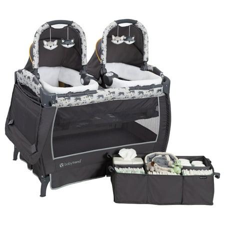 Baby Trend Twins Nursery Center Playard, Goodnight Forest