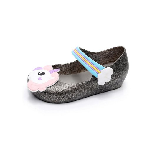 650b9c200a3 LESHP - Lovely Kids  Shoes Anti-slip Jelly Sandals with Unicorn Pattern  Decor   Nylon Tape Closure Unisex for Boys   Girls - Walmart.com