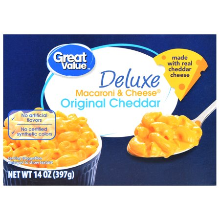 Great Value Deluxe Macaroni & Cheese, 14 oz