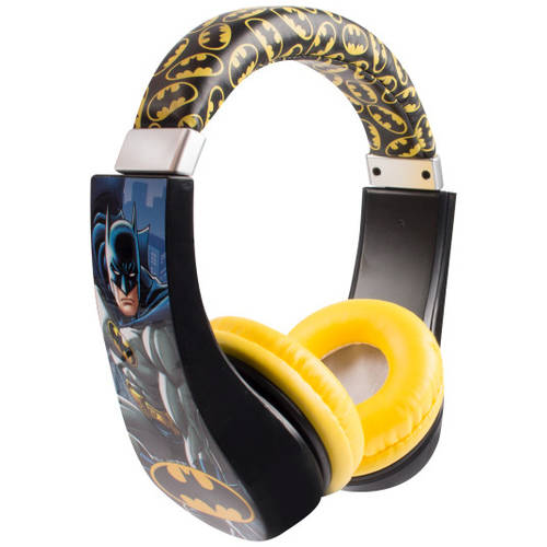 Videojuego Para Xbox 360 Batman Kids Friendly Cushioned Headphones with Volume Limiter + Generic en VeoyCompro.net