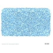 The Rug Market Shaggy Raggy Area Rug, Light Blue, 4' x 4'