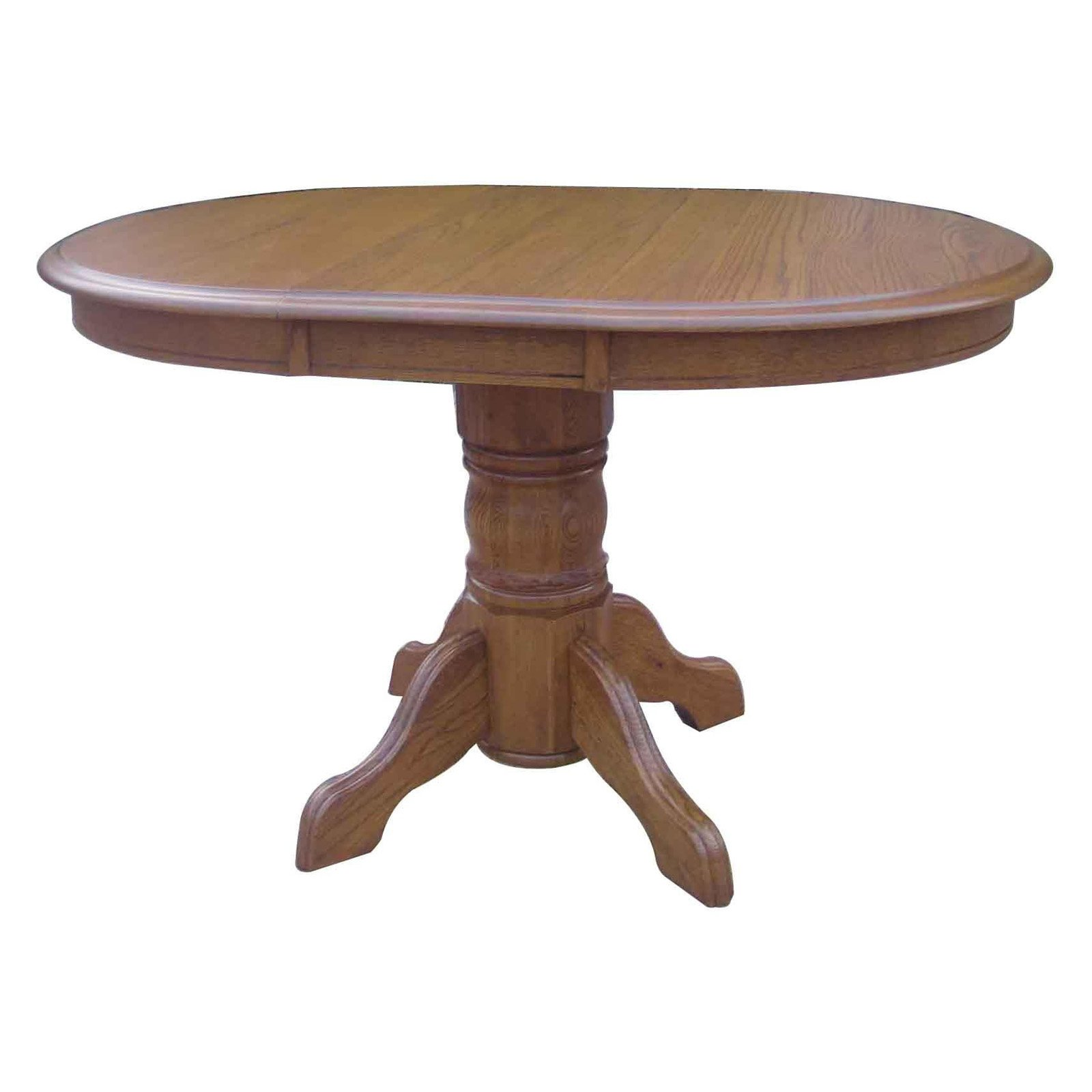 Chelsea Home Sandalwood Pedestal Dining Table by Chelsea Home Furniture LLC.