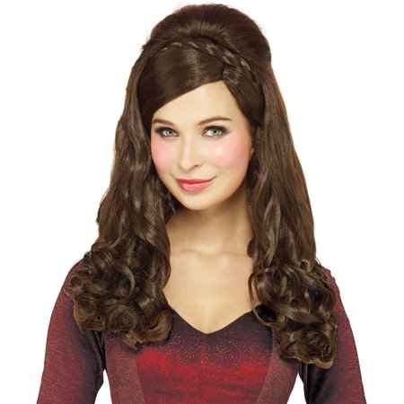Braided Princess Wig Halloween Costume Accessory