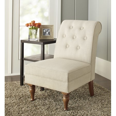 Better Homes & Gardens Colette Tufted Accent Chair, Multiple Colors (Garden Style Chair)