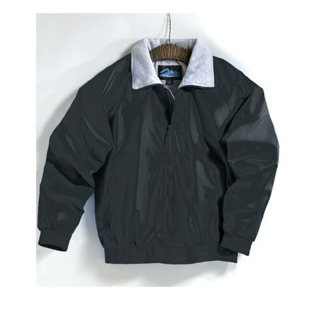 Tri Mountain Clipper 3400 Nylon Jacket With Jersey Lining  2X Large  Black