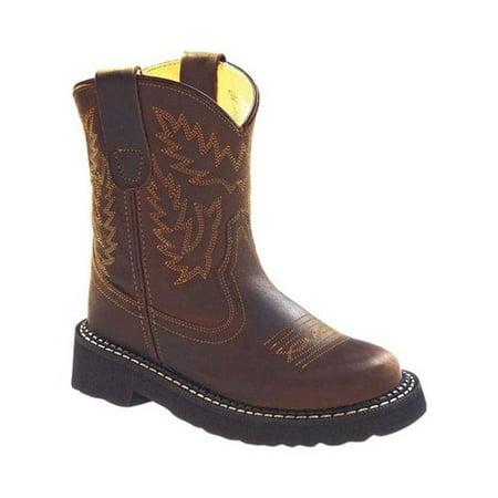 Children's Old West 7 Inch Flexi Broad Round Toe Boot - Child ()