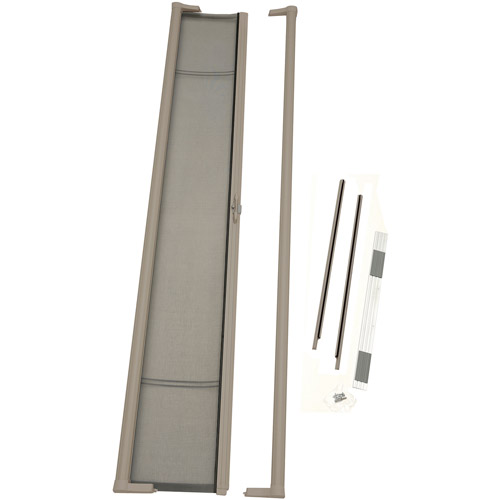 "Odl Retractable Screen Door odl brisa tall retractable screen for 96"" in-swing or out-swing"