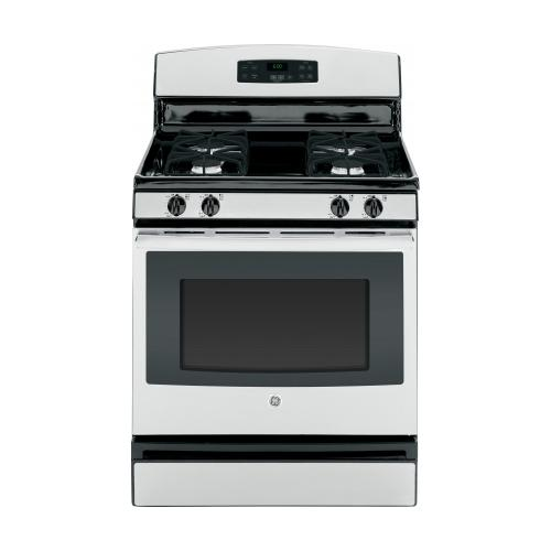 GE 30-INCH 4.8 CU. FT. FREE-STANDING GAS RANGE, STAINLESS