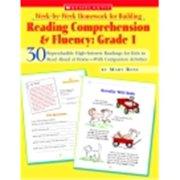 Scholastic Reading Comprehension And Fluency, Grade 1