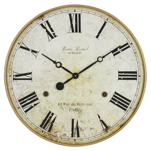 darby home co oversized wall clock