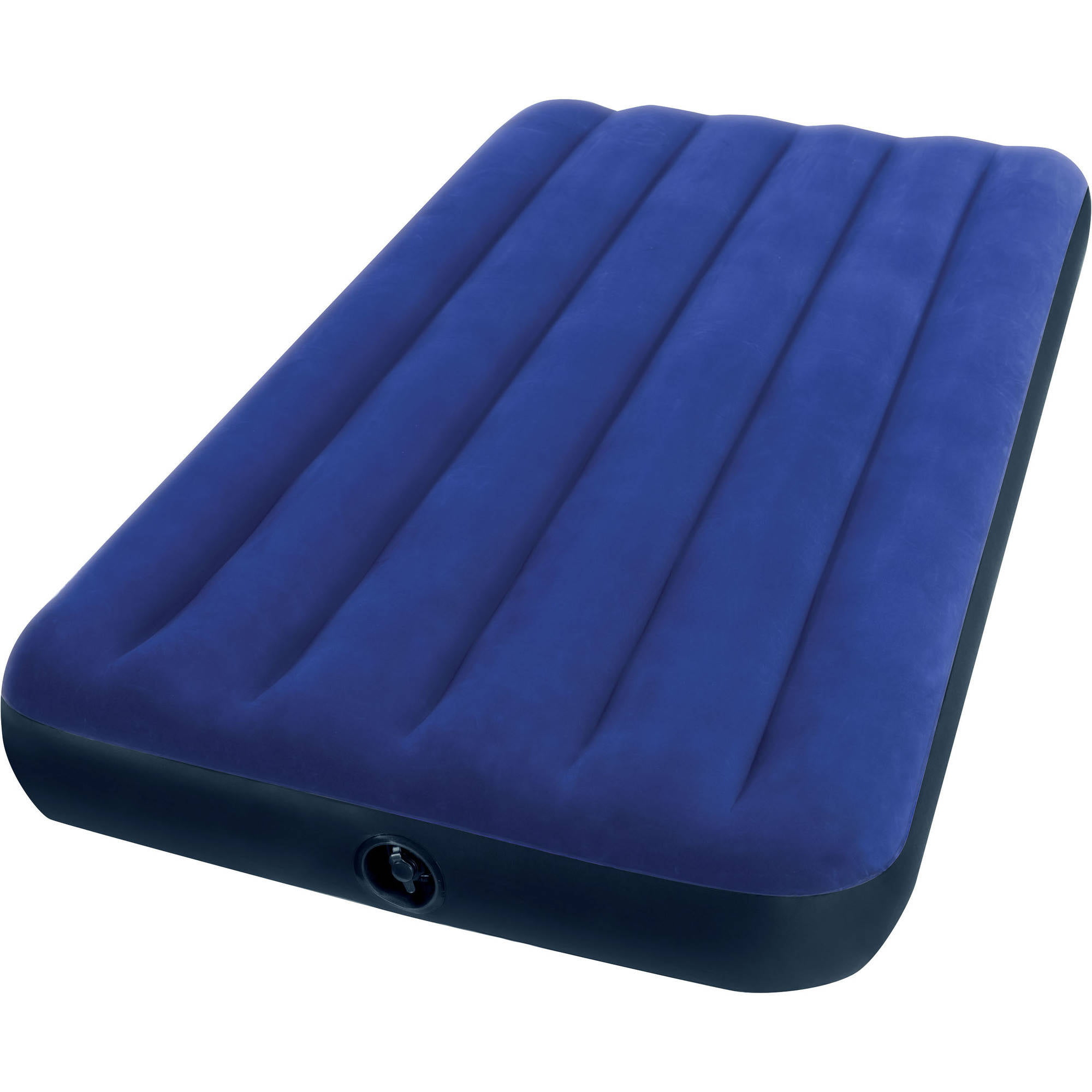 Intex Twin 8 75  Classic Downy Inflatable Airbed Mattress. Air Beds   Walmart com   Walmart com