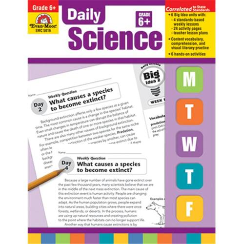 Daily Science, Grade 6 (Daily Practice Books)