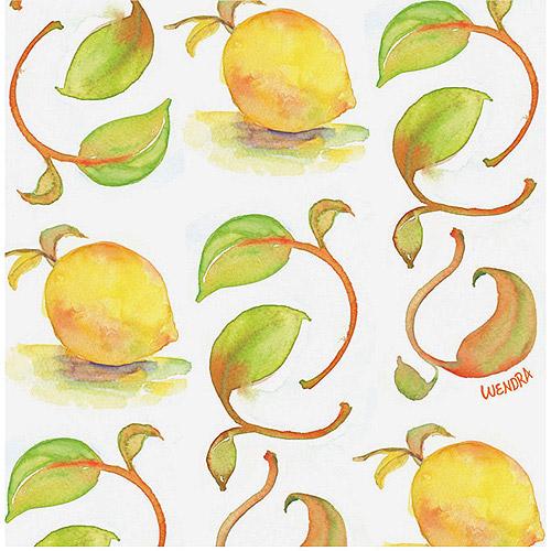 "Trademark Fine Art ""Lemons"" Canvas Art by Wendra"