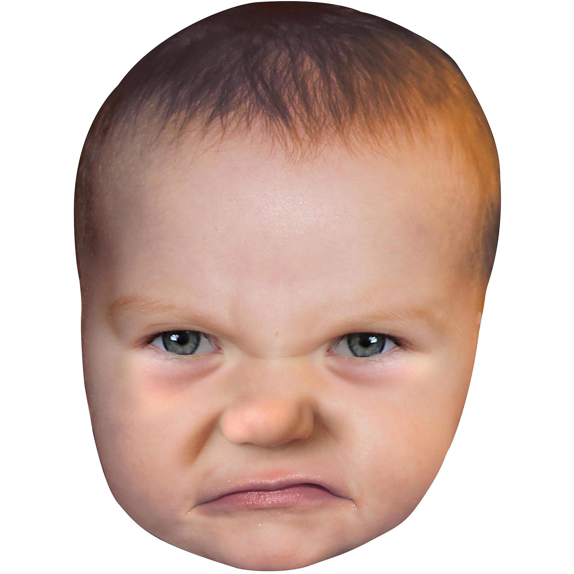 Giant Baby Head Mask Adult Halloween Accessory - Walmart ...