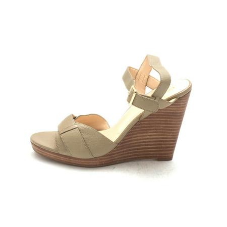 Cole Haan Womens 12A4173 Open Toe Casual Platform, Summer Khakis, Size 6.0