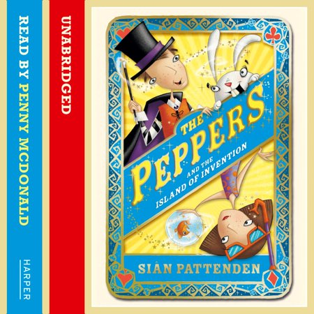 The Magical Peppers and the Island of Invention - Audiobook