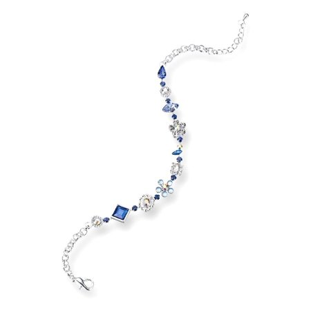 Lillian Rose Something Blue Anklet Ankle Beach Chain Bracelet
