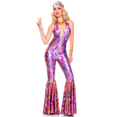 Halloween 70's Costume Ideas (Groovy 70's Diva Costume, Sexy Groovy 70's Diva)