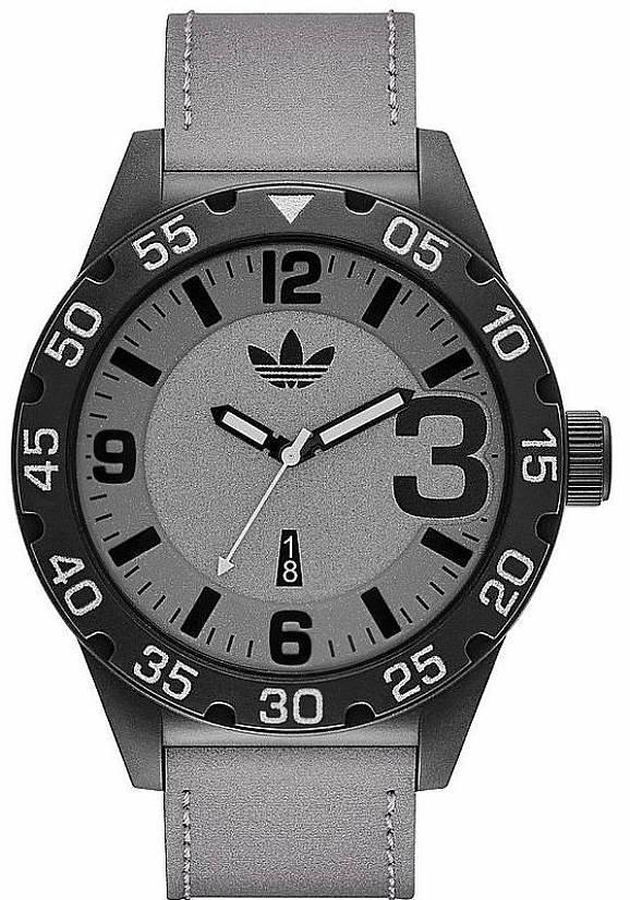 Men's Adidas Originals Newburgh Grey Fabric Watch ADH3079 by Adidas