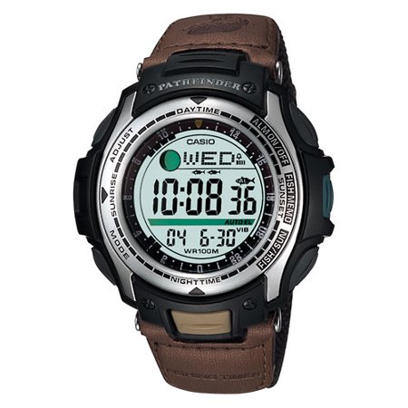 casio pathfinder fishing watch
